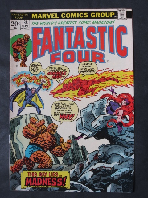 Fantastic Four (1961 series) #138 VF