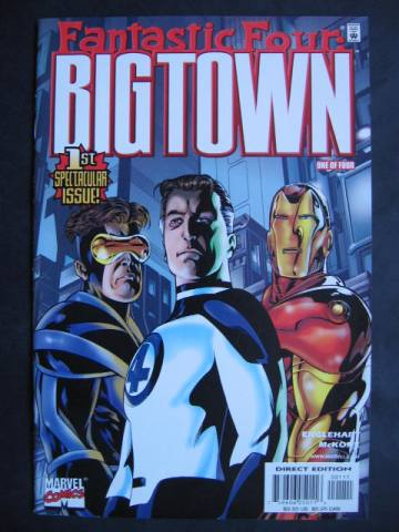 Fantastic Four: Big Town #1-4 Complete mini-series