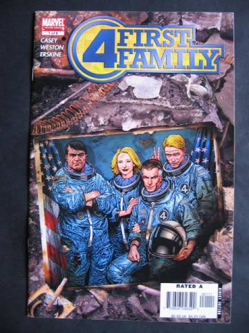 Fantastic Four: First Family #1-6 Complete mini-series