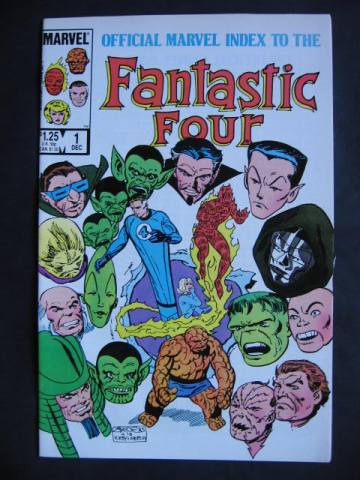 Official Marvel Index To The Fantastic Four #1-4