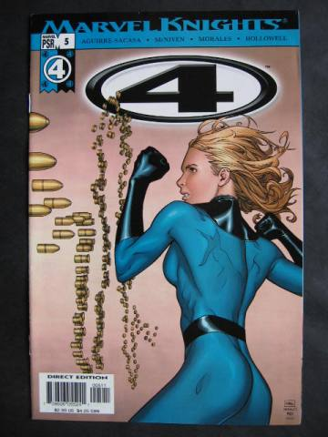 Fantastic Four (Marvel Knights 4)  #5