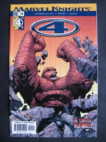 Fantastic Four (Marvel Knights 4) #10