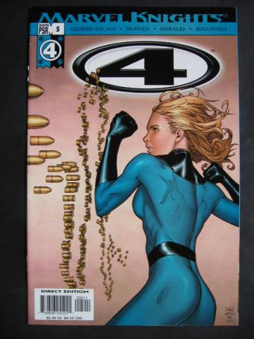 Fantastic Four (Marvel Knights 4)  #5-7 Set of 3 comics