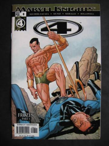 Fantastic Four (Marvel Knights 4)  #8-9 Set of 2 comics