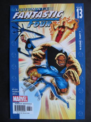 Ultimate Fantastic Four #13