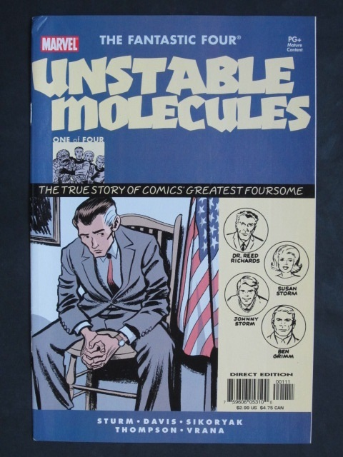 Fantastic Four Unstable Molecules #1-4 Complete mini-series