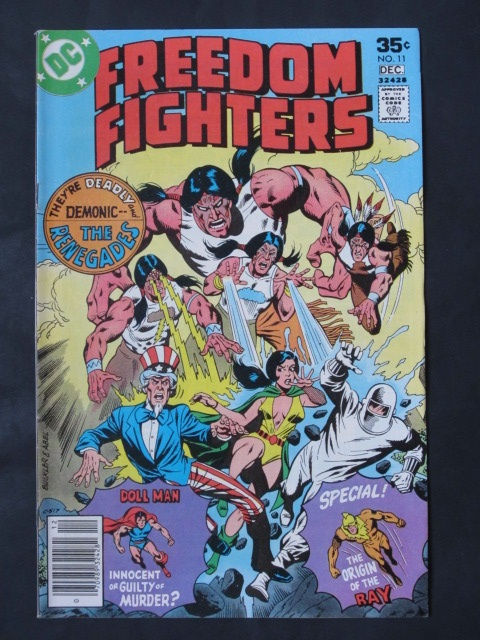 Freedom Fighters (1976 series) #11