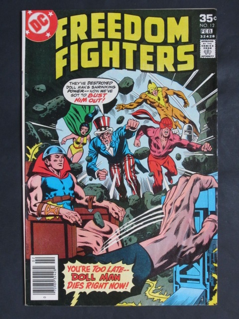 Freedom Fighters (1976 series) #12