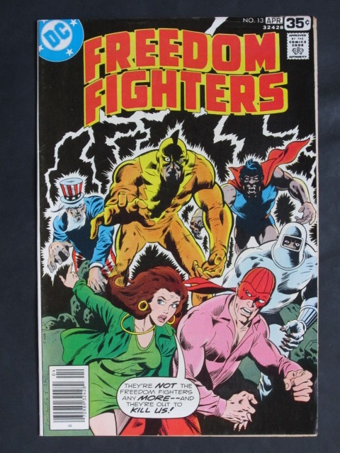 Freedom Fighters (1976 series) #13