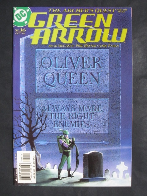 Green Arrow (2001 series) #16-21 Set of 6 comics