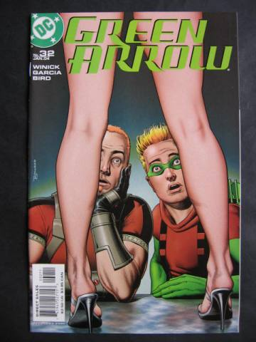 Green Arrow (2001 series) #32