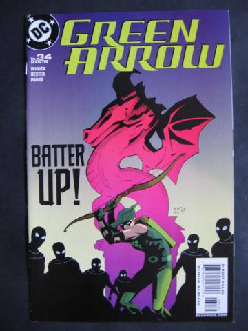Green Arrow (2001 series) #34-39 Set of 6 comics