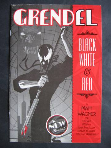 Grendel: Black, White & Red #1-4 Complete mini-series