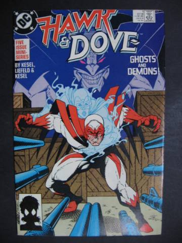 Hawk and Dove (1988 series) #1-5 Complete mini-series