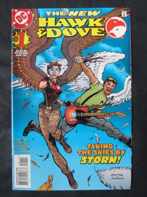 Hawk and Dove (1997 series) #1-5 Complete mini-series