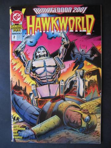 Hawkworld (1990 series) Annual #2