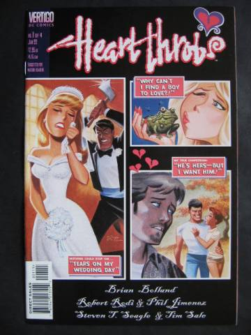 Heart Throbs #1-4 Complete mini-series