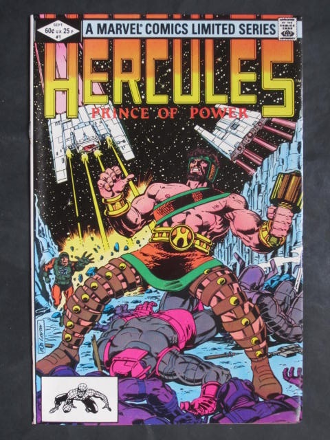 Hercules Prince Of Power (1982) #1-4 Complete mini-series