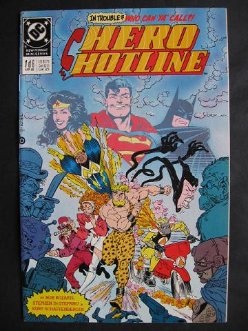 Hero Hotline #1-6 Complete mini-series