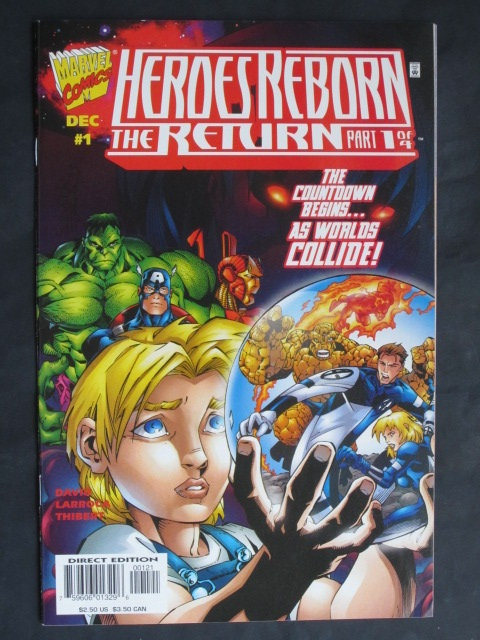 Heroes Reborn: The Return #1-4 Complete mini-series (A)