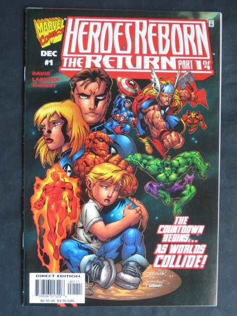 Heroes Reborn: The Return #1-4 Complete mini-series (C)