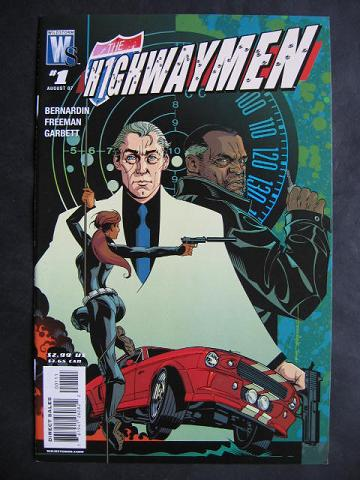 Highwaymen #1-5 Complete mini-series