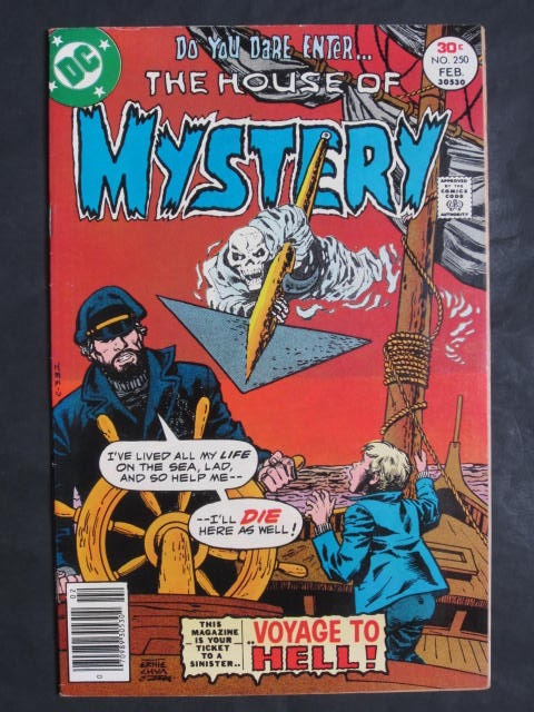 House of Mystery #250
