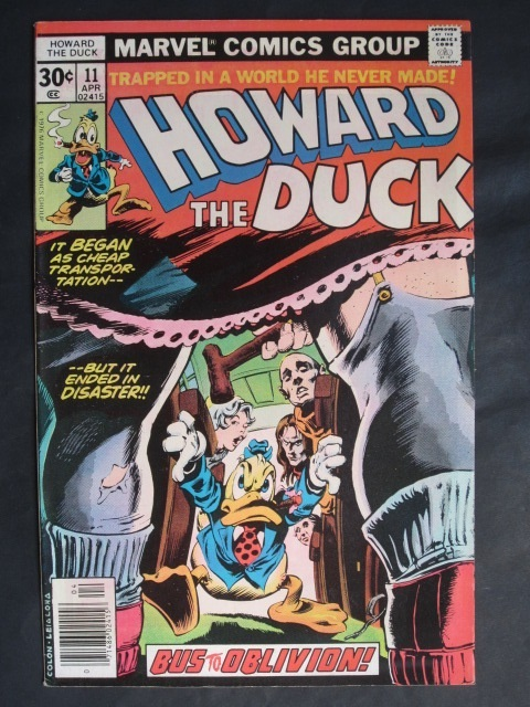 Howard The Duck (1976 series) #11 VF+