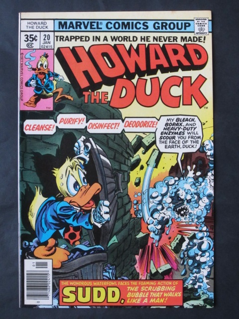 Howard The Duck (1976 series) #20