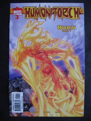 Human Torch #1-12 Complete maxi-series