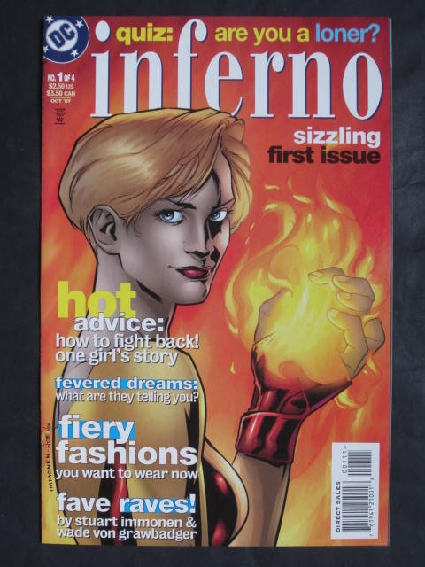 Inferno #1-4 Complete mini-series