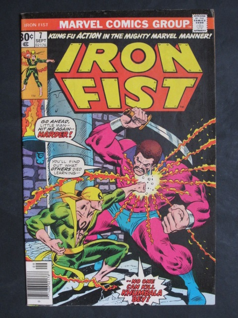 Iron Fist (1975 series)  #7