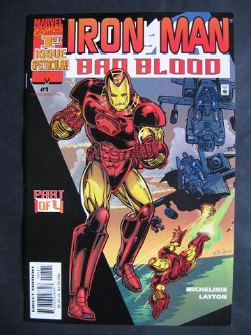 Iron Man: Bad Blood #1-4 <br>Complete mini-series