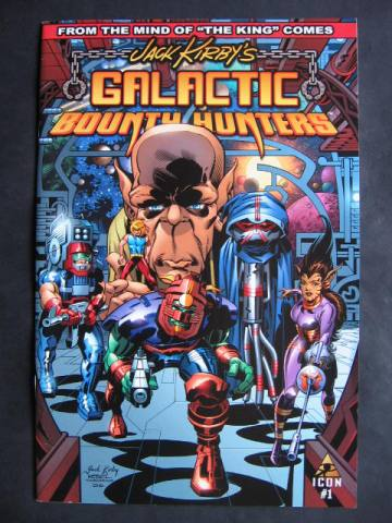 Jack Kirby's Galactic Bounty Hunters #1-6 Complete mini-series