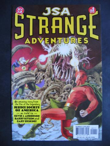 JSA: Strange Adventures #1-6 Complete mini-series