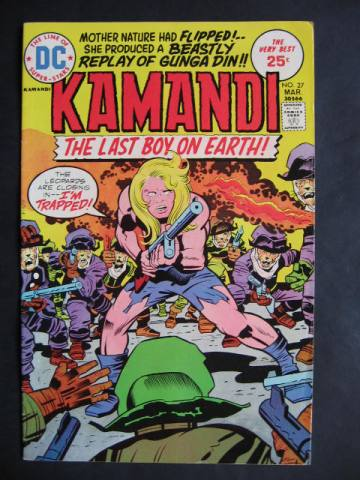 Kamandi, The Last Boy On Earth #27