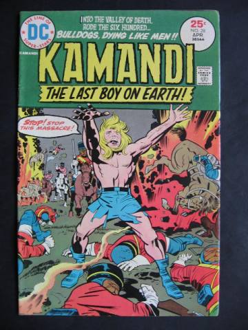Kamandi, The Last Boy On Earth #28