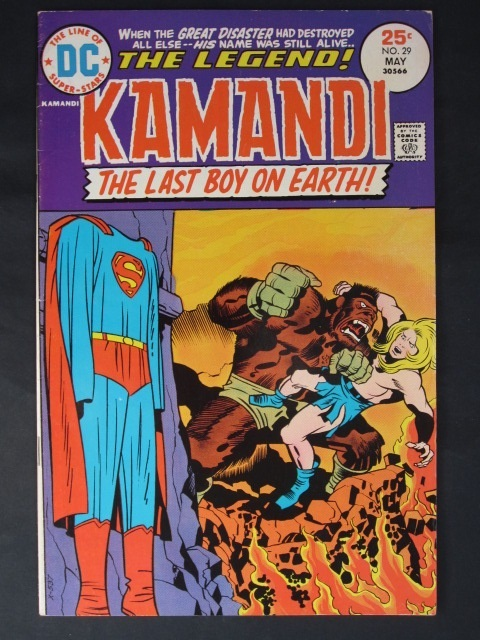 Kamandi, The Last Boy On Earth #29