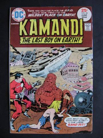 Kamandi, The Last Boy On Earth #30