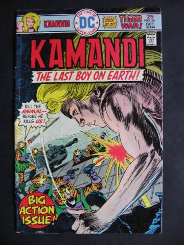 Kamandi, The Last Boy On Earth #34