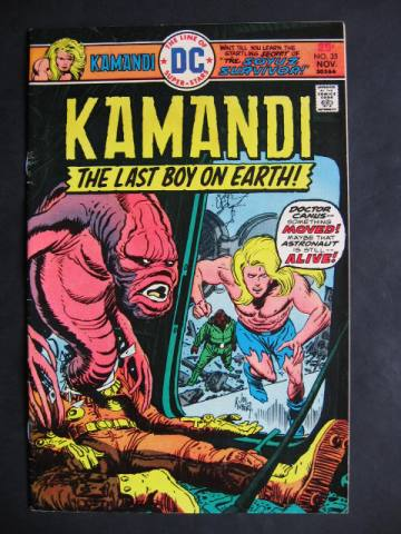 Kamandi, The Last Boy On Earth #35