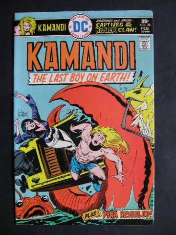 Kamandi, The Last Boy On Earth #38