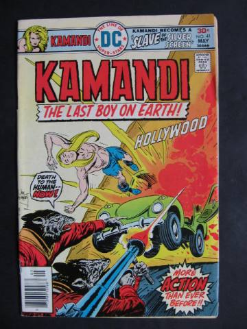 Kamandi, The Last Boy On Earth #41