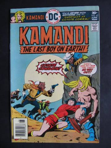 Kamandi, The Last Boy On Earth #42