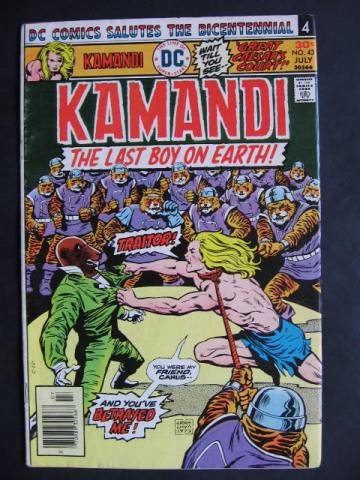 Kamandi, The Last Boy On Earth #43