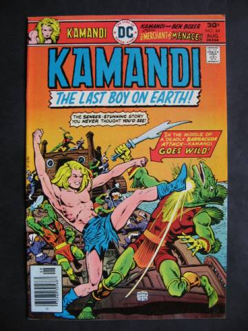 Kamandi, The Last Boy On Earth #44