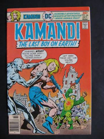 Kamandi, The Last Boy On Earth #46