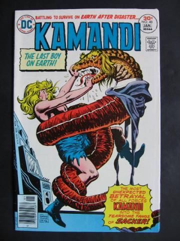 Kamandi, The Last Boy On Earth #48