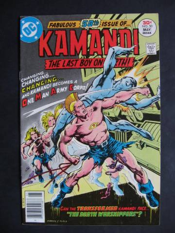 Kamandi, The Last Boy On Earth #50