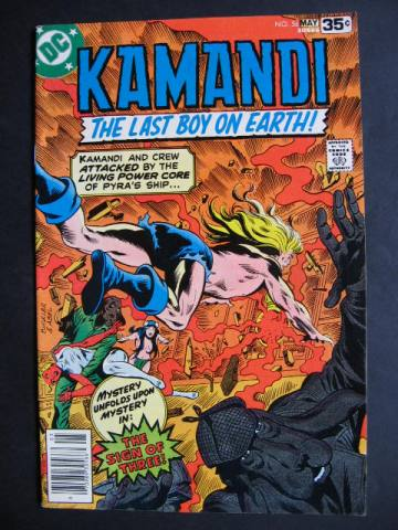 Kamandi, The Last Boy On Earth #56